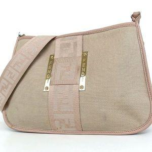 Fendi Zucca vintage crossbody/ shoulder bag